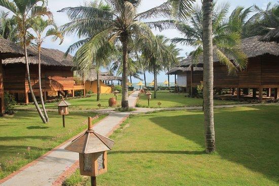 Coco Beach Resort: vom Bungalow direkt zum Strand