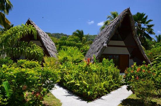 La Digue Island Lodge : Zahradní chaty