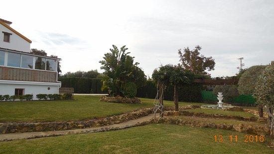 Detalle Jardin Picture Of La Posada Del Duende Arcos De La - Arcos-de-jardin