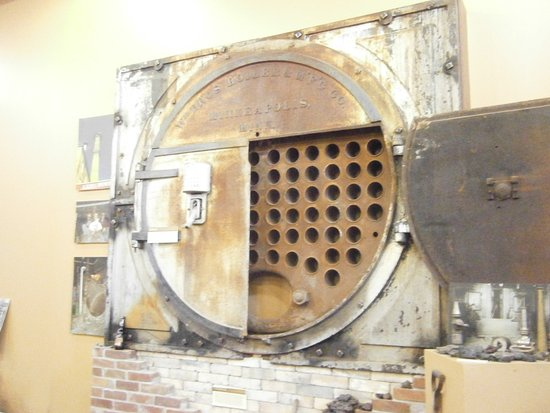 New Ulm, MN: A boiler