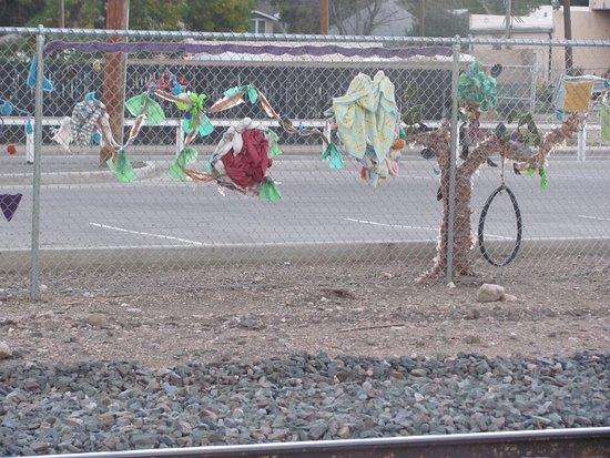 Loveland, CO: Cool Fence Near Pourhouse
