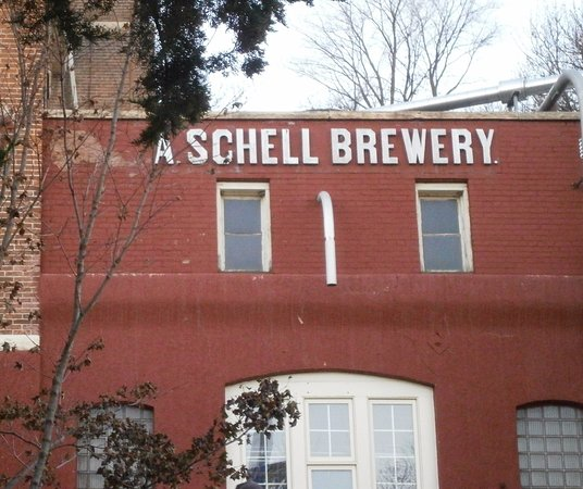 New Ulm, MN: Part of the old brewery
