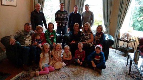ardtara country house hotel restaurant family christmas celebration at ardtara mid november