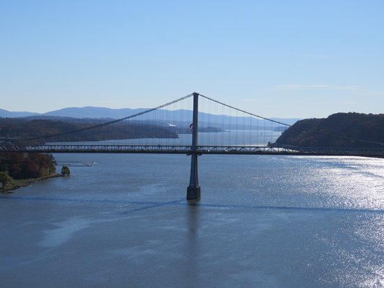 Walkway Over the Hudson State Historic Park: View of Mid Hudson Bridge
