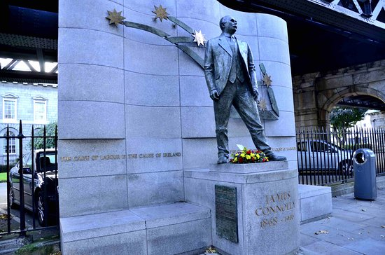 James Connolly Memorial Statue