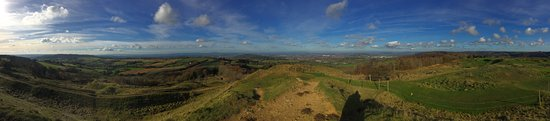 Panoramic Views at Painswick Beacon