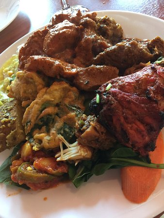 Aptos, CA: Tried the Sunday buffet today at Ambrosia Indian Bistro