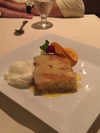 Butlers at the Mansion : Greek Semolina - almond cake with orange syrup