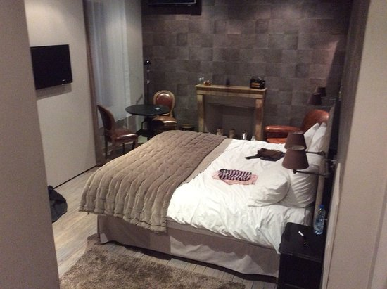 chambre cosy photo de les chambres de l 39 imprimerie beaune tripadvisor. Black Bedroom Furniture Sets. Home Design Ideas
