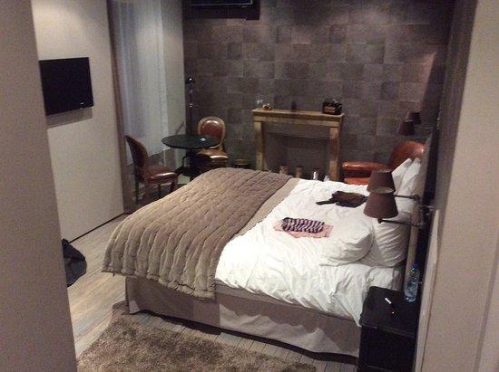 chambre cosy - picture of les chambres de l'imprimerie, beaune