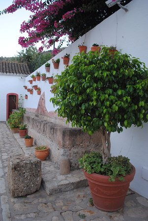 Casarabonela, Spain: patio interior