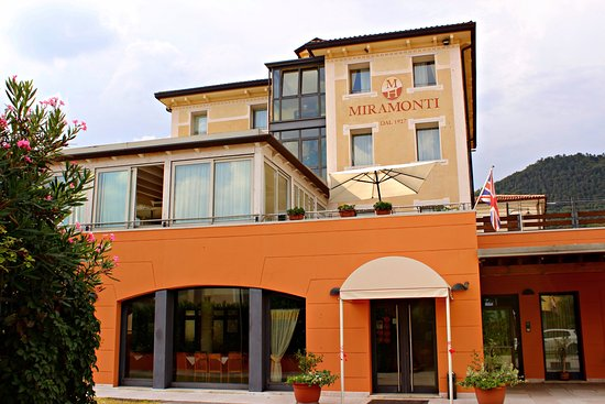 Pove del Grappa, Italia: Facciata Hotel