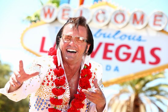 Las Vegas, NV: Eddie Powers - The Best Elvis in Vegas