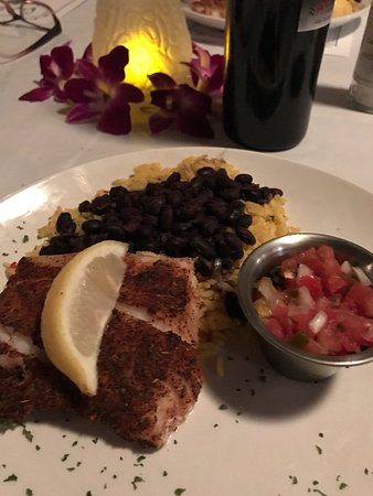 Cabbage Key Inn: Amazing Grouper course!