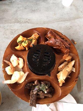 asador san miguel asador beef chicken pork and shrimp all grilled