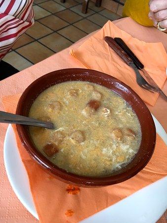 Cartajima, Spain: Sopa de ajo