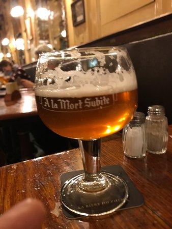 Draft beer – A La Mort Subite, Brüsszel fényképe - Tripadvisor