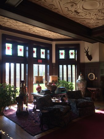 Lenox, MA: Blantyre Drawing Room