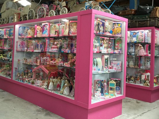 Lots Of Various Toys In Display Cabinets Picture Of National