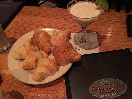 Calabash, Karolina Północna: The Boundary House Restaurant