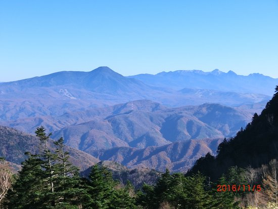 長野県, 色んな山