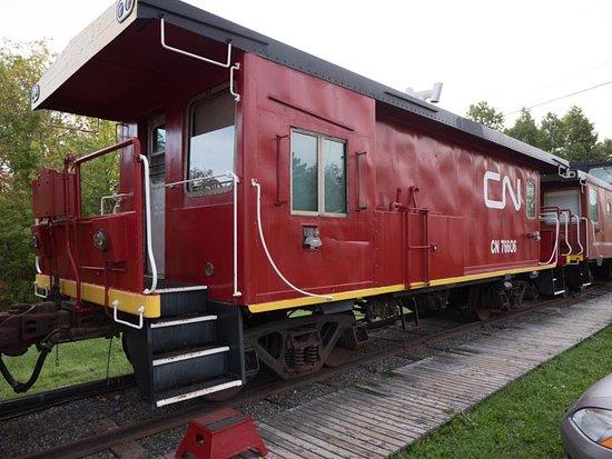 Train Station Inn: The transfer car (#7)