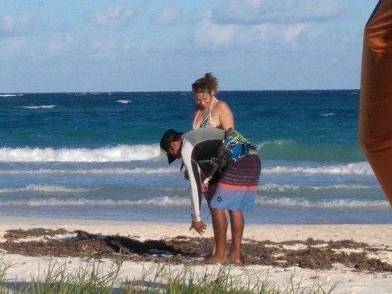 Extreme Control: Les explications gravées dans le sable...