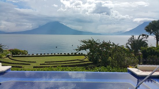 Hotel Atitlan: View from the restaurant