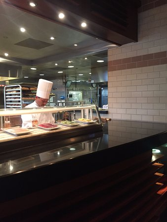 View Of The Chef Station Houston S 1550 Rosecrans Ave Ste