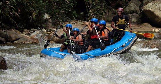 ‪‪Gopeng‬, ماليزيا: White Water Rafting at Sungai Kampar with Silver Seven‬