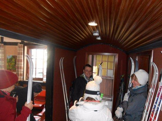 Wirtzfeld, Bélgica: Klaar voor de tocht