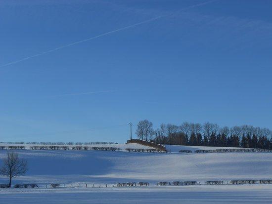 Wirtzfeld, Bélgica: Uitzicht vanuit ontbijtzaal