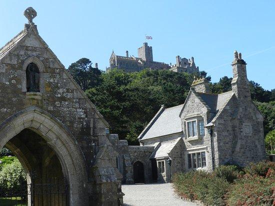 Marazion, UK : The castle