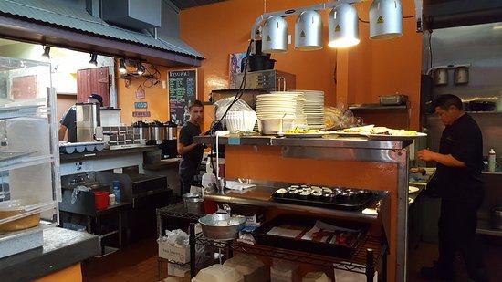 Community Cafe: Kitchen