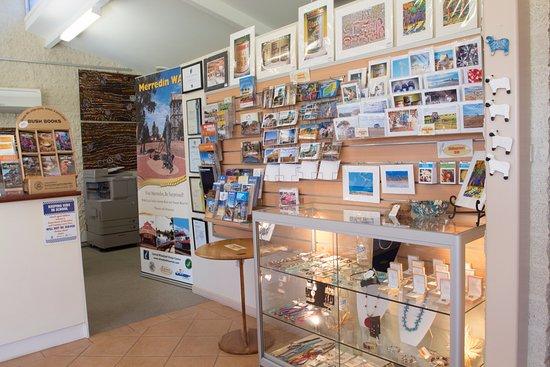 Merredin, Australia: Souvenirs at Central Wheatbelt Visitor Centre