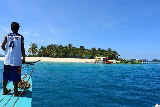 Busuanga Island, Filipinler: 潔白的沙灘
