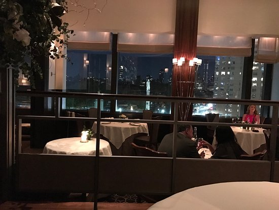 Per Se: Amazing location, great service, absolutely gorgeous decoration, and very good food.   All perfe