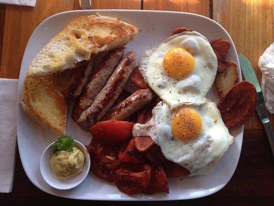 Gunther German Breakfast Great Picture Of Cranky Cafe Merimbula Tripadvisor