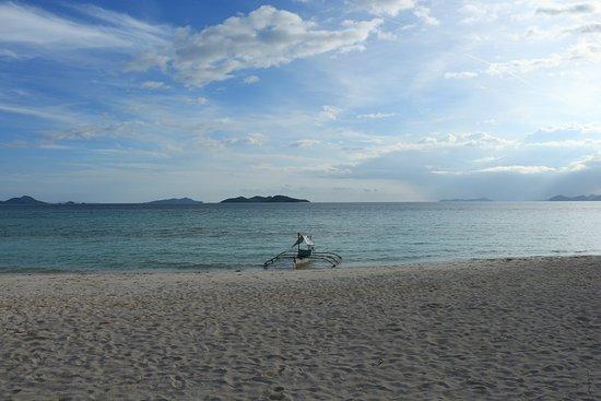 Malcapuya Island : 天堂般的風景