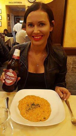 Da Vito e Dina: Best salmon risotto in Rome