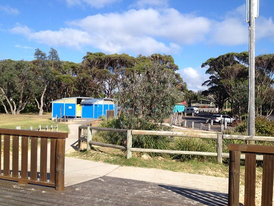 Ford Park Playground: Public toilets