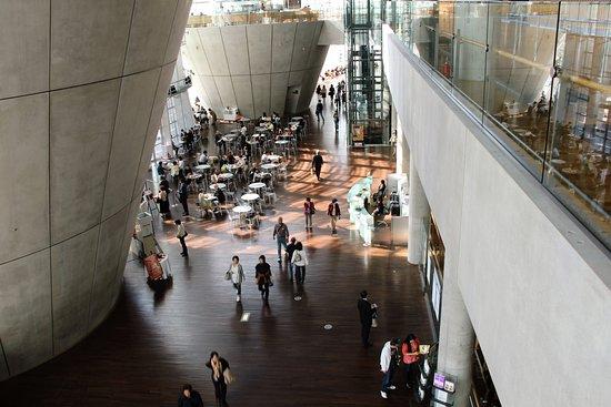 Beton In Interieur : Lintérieur en béton et verre. picture of the national art center