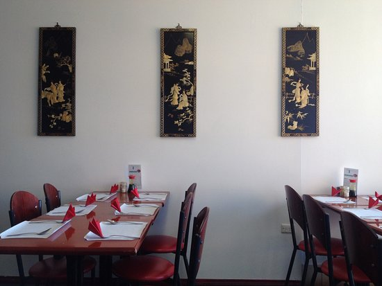Golden Ocean Chinese Restaurant : Inside seating