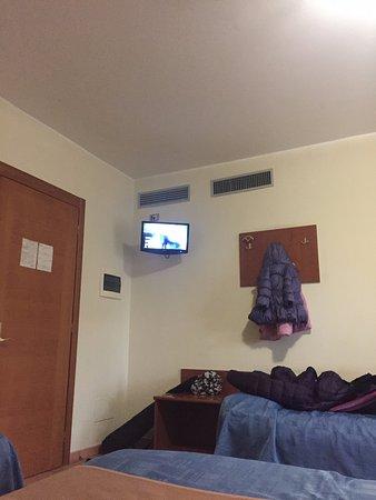 Park Hotel Villamaria : televisore microscopico