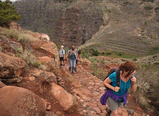 Valle Gran Rey, Spain: Im Norden La Gomeras oberhalb Agulos