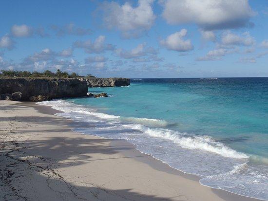 Bottom Bay, Barbados: пляж