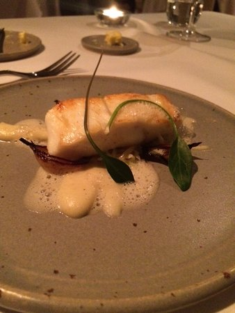 Whitebrook, UK: Halibut (out of this world)