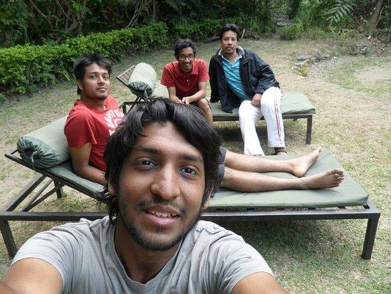 Tatopani, Nepal: Resort grounds