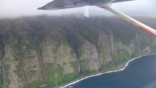 Big Island Air: waterfalls