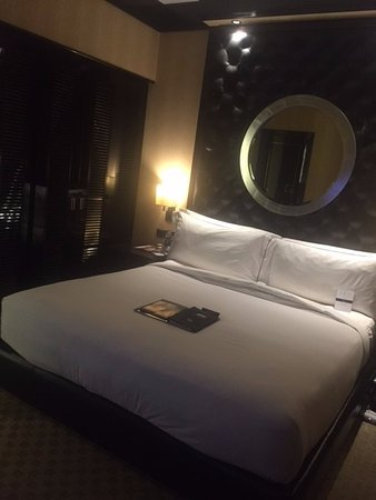 Fairmont Cairo, Nile City: the nice bed